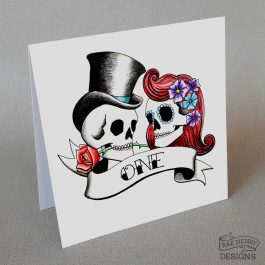 rockabilly skulls table number