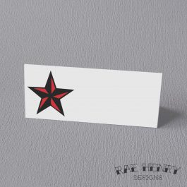 Tattoo Star Place Cards
