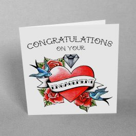Tattoo Engagement Card