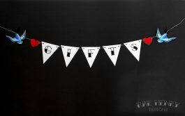 Tattoo Swallows Gifts Bunting