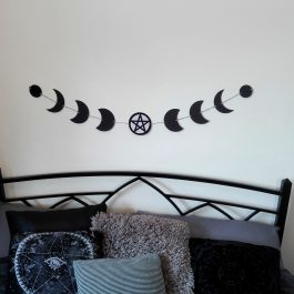Moon Phases Pentacle Bunting