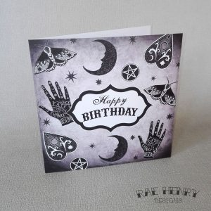 Mystical Birthday Card