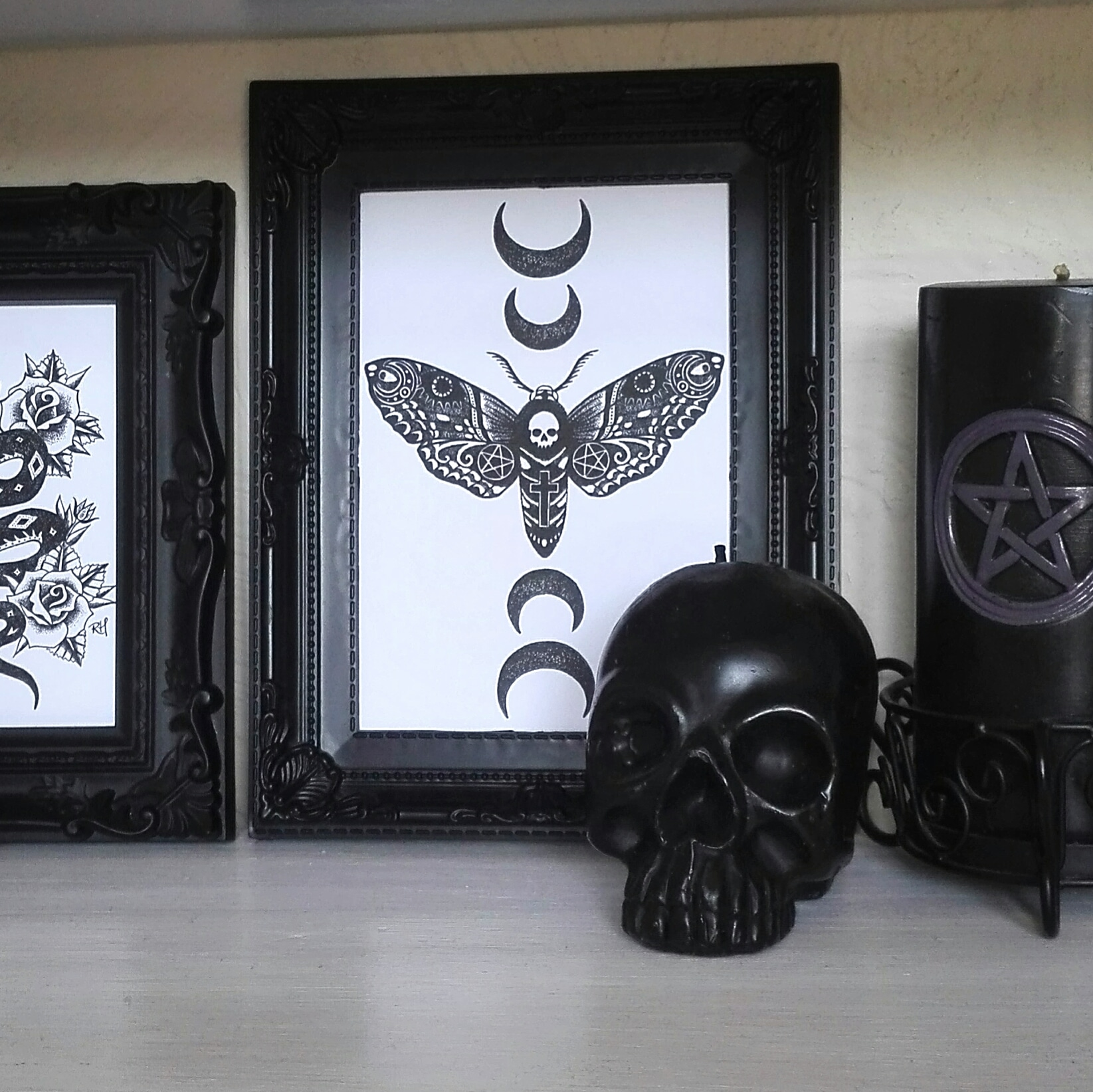 goth home decor