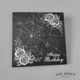 gothic birthday card